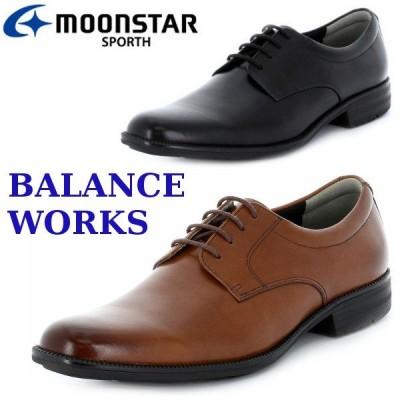 MOONSTAR バランスワークス スポルス SPORTH SPH4600 ブラウン ブラック