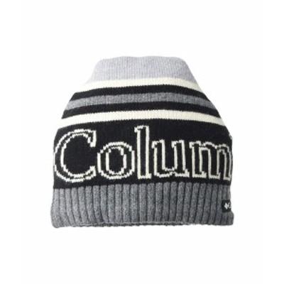 コロンビア メンズ 帽子 アクセサリー Polar Powder Heavyweight Beanie Black/City Grey