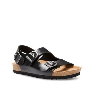 イーストランド Eastland Shoe レディース サンダル・ミュール シューズ・靴 Eastland Charlestown Double Strap Sandals Black