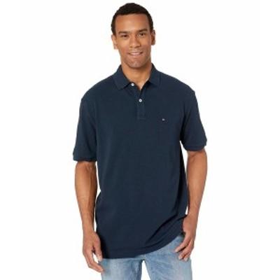 トミー ヒルフィガー メンズ シャツ トップス Ivy Polo Shirt Classic Fit Navy Blazer