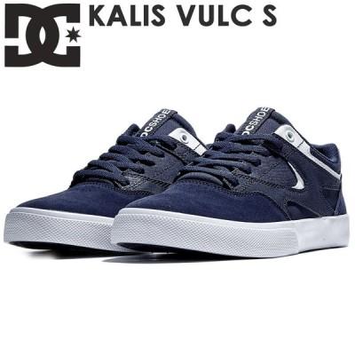 DC スニーカー KALIS VULC S(DS201005) NWH ネイビー ホワイト スケシュー スケートボード スケボー DCシューズ 靴