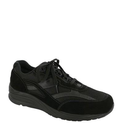 エスエーエス メンズ スニーカー シューズ Men's Journey Mesh Lace Up Sneakers Black