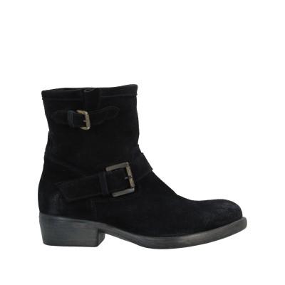 MARIA CRISTINA ショートブーツ ブラック 36 革 ショートブーツ