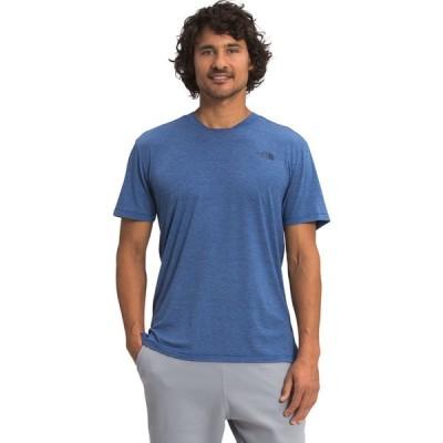 ザ ノースフェイス THE NORTH FACE メンズ Tシャツ トップス Wander Short Sleeve Tee YFS BOLT BLUE