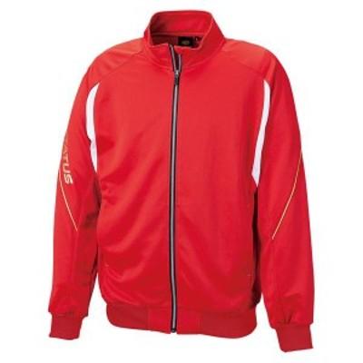 ゼット 野球 ソフト PROSTATUS トレーニングジャケット 16SS レッド トレーニングウェア(bpro200s-6400)