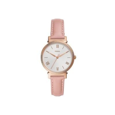 フォッシル 腕時計 アクセサリー レディース Women's Daisy Blush Leather Strap Watch 34mm Pink
