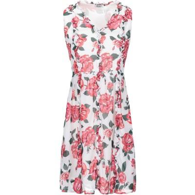リュー ジョー LIU •JO ミニワンピース&ドレス ホワイト 42 100% ポリエステル ミニワンピース&ドレス