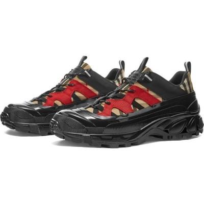 バーバリー Burberry メンズ スニーカー シューズ・靴 Arthur Sneaker Archive Beige/Black