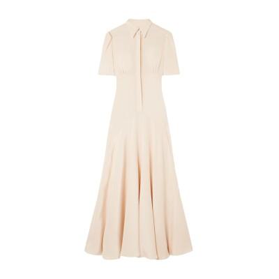 ヒリヤー・バートリー HILLIER BARTLEY ロングワンピース&ドレス ライトピンク 6 シルク 100% ロングワンピース&ドレス