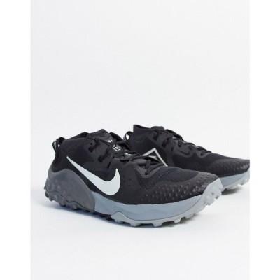 ナイキ Nike Running メンズ スニーカー シューズ・靴 Wildhorse 6 Trainers In Triple Black ブラック