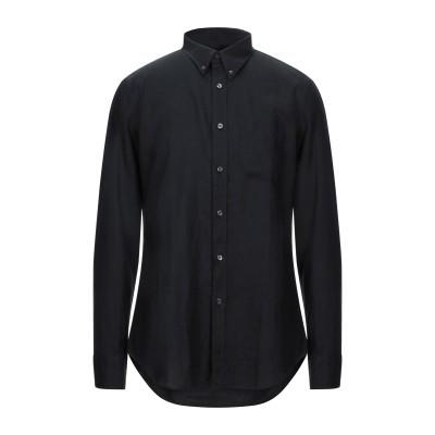 トム フォード TOM FORD シャツ ブラック 39 リネン 100% シャツ