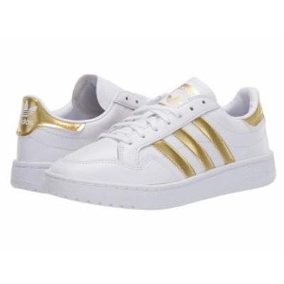 アディダス レディース スニーカー シューズ Team Court Footwear White/Gold Metallic/Footwear White