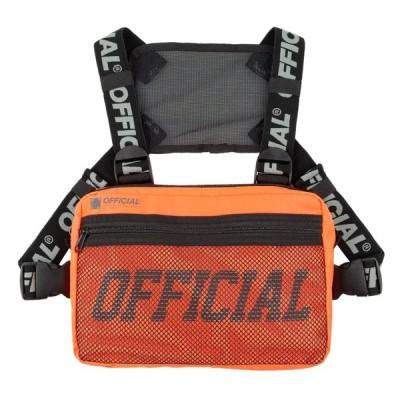 オフィシャル OFFICIAL MELROSE CHEST UTILITY BAG ORENGE/オレンジ チェスト ユーティリティ バッグ 4点留め ボディーバッグ