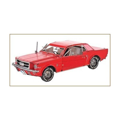 Fascinations Metal Earth 1965 Ford Mustang Red 3D Metal Model Kit【並行輸入品】