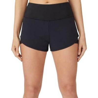 フィラ レディース スカート ボトムス FILA Women's Essentials Stretch Woven Tennis Shorts Black