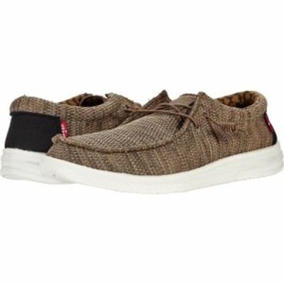 リーバイス Levis Shoes メンズ スニーカー シューズ・靴 Nick Knit Olive/Black
