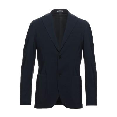 TRAIANO テーラードジャケット ダークブルー 48 ナイロン 73% / ポリウレタン 27% テーラードジャケット