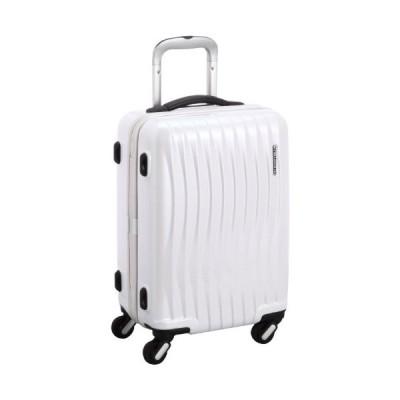 [フリクエンター] 4輪スーツケース ファスナータイプ 34L 機内持込可 34L 47cm 3.5kg 1-622 WT シロ