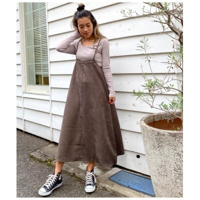 ANAP / ライスコーデュロイサロペットスカート WOMEN オールインワン・サロペット > サロペット/オーバーオール