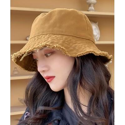 TeddyShop / ベーシックフリンジバケットハット WOMEN 帽子 > ハット