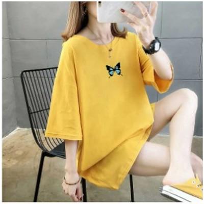 [BIGタイムSALE] 夏新作 予約商品 大きいサイズ レディース夏新作  シャツ Tシャツ カットソー デザイン シンプル 夏新作 ゆったり 体型