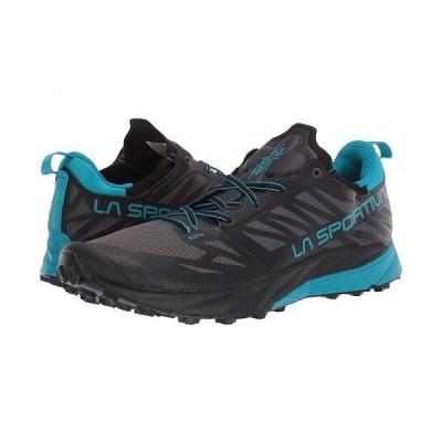 La Sportiva スポルティバ メンズ 男性用 シューズ 靴 スニーカー 運動靴 Kaptiva - Carbon/Tropic/Blue