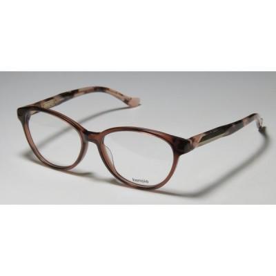 眼鏡フレーム ケンジー KENSIE STELLAR スプリング アーム ファッションABLE アイグラス フレーム/レンズ YOUNG レディース brown / havana