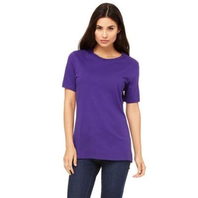 レディース 衣類 トップス Bella + Canvas Women's Relaxed Jersey Short Sleeve T-Shirt - B6400 Tシャツ