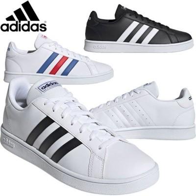 adidas(アディダス) グランドコートベース GRANDCOURT BASE スニーカー シューズ 通勤通学 運動靴 EOU26 メンズ・ユニセックス