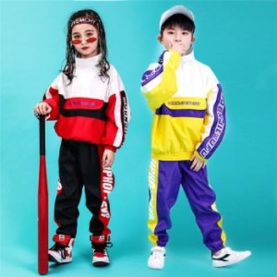 女の子 男の子 子供 ジャズダンス ヒップホップ モダンダンス レッスンウェア ダンスレッスン ステージ衣装 衣装セット ダンス服 レッス