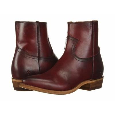 フライ ブーツ&レインブーツ シューズ レディース Billy Inside Zip Bootie Red Antique Pull Up Leather