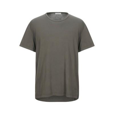 パオロ ペコラ PAOLO PECORA T シャツ ミリタリーグリーン S コットン 100% T シャツ