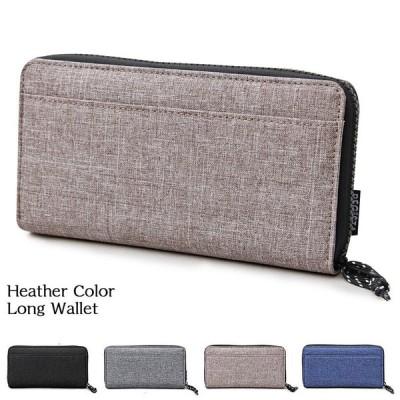 長財布 メンズ 財布 サイフ さいふ ラウンドファスナー ロングウォレット カード入れ 小銭入れ PVCナイロン ジップ ファッション小物