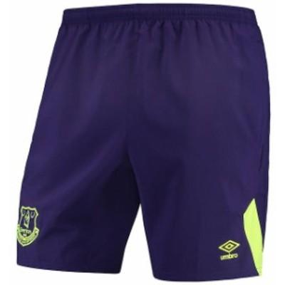 Umbro アンブロ スポーツ用品  Umbro Everton Purple Woven Training Shorts
