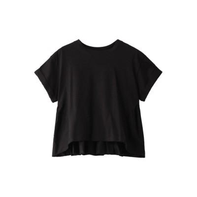 CLANE クラネ BACK FRILL TEE/Tシャツ レディース ブラック 1