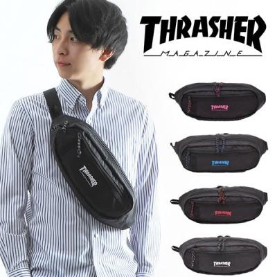 ウエストバッグ ウエストポーチ ボディバッグ スラッシャー THRASHER メンズ レディース 撥水 ブランド おしゃれ メール便送料無料