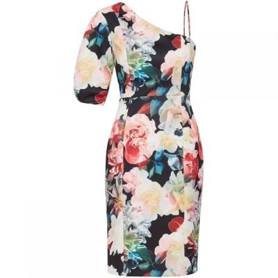 ジーナ バッコーニ Gina Bacconi レディース ワンピース ワンピース・ドレス Lelia Floral Scuba Dress Multi-Coloured