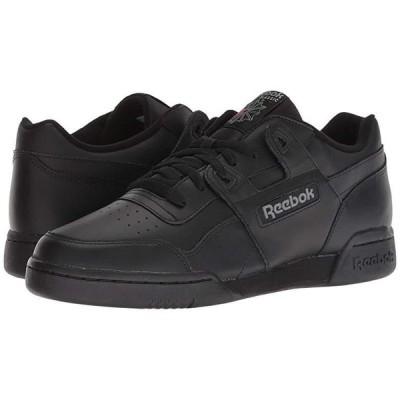 リーボック Workout Plus メンズ スニーカー 靴 シューズ Black/Charcoal
