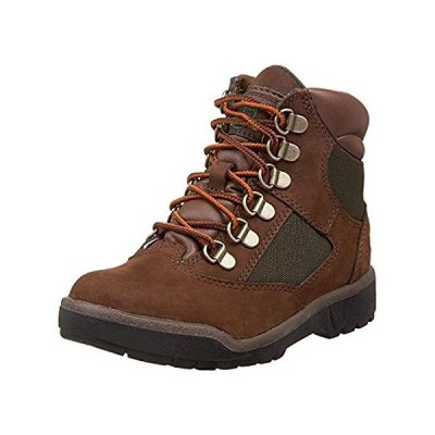Timberland 6-Inch Leather and Fabric Field Boot (Toddler/Little Kid/Big Kid