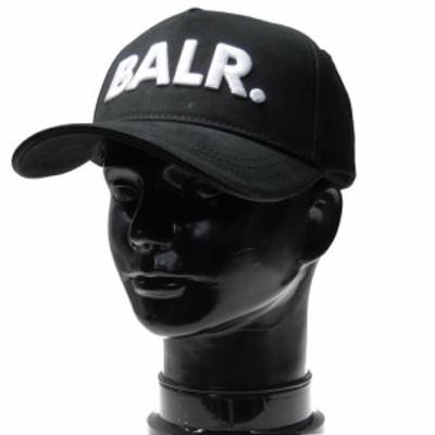 【セール 40%OFF!】BALR. ボーラー メンズベースボールキャップ Classic Cotton Cap / 10015 ブラック