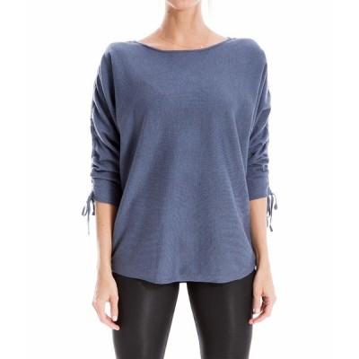 マックススタジオ ニット&セーター アウター レディース Sweater Heather Light Denim