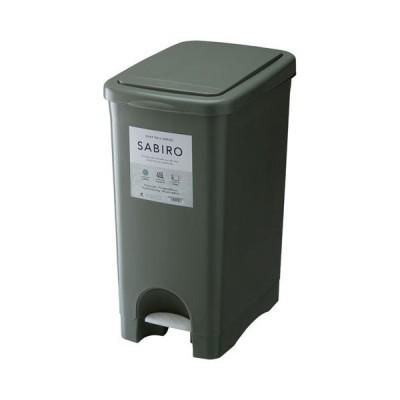 東谷 サビロ プッシュペダルペール ダストボックス ごみ箱 RSD−183GR(グリーン)