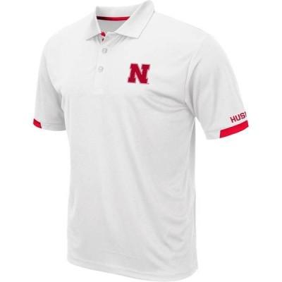 コロシアム メンズ ポロシャツ トップス Colosseum Men's Nebraska Cornhuskers Fore White Polo