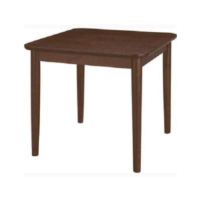 高齢者用 アッシュ ダイニングテーブル 75 BR (テーブル,食卓テーブル,2人用,老人用,お年寄)