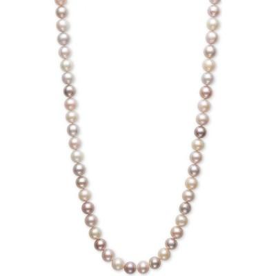 """メイシーズ Macy's ユニセックス ネックレス ジュエリー・アクセサリー Multicolored Cultured Freshwater (7-1/2mm) 24"""" Statement Necklace Multi"""