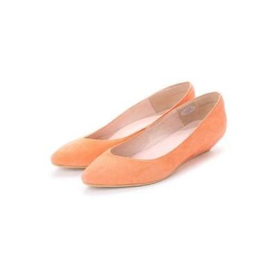 ファデマキスコ fadema KISCO ローウェッジパンプス (オレンジ)