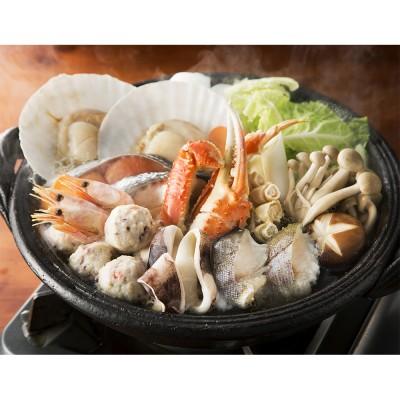 具材10種の海鮮鍋
