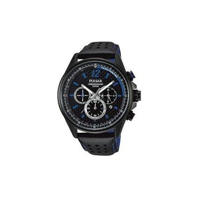 海外限定 Pulsar Active Mens Analog Quartz Watch with Leather Bracelet PT3549X1