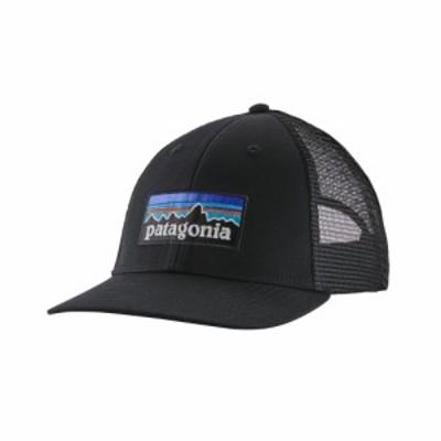 パタゴニア Patagonia メンズ キャップ 帽子 P-6 Logo LoPro Trucker Hat Black