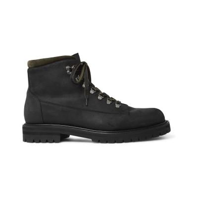 MR P. ショートブーツ ブラック 6 革 ショートブーツ